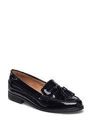 Lady Lac Loafer - BLACK