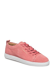 Lady Suede Sneakers - CERISE