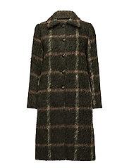 Garbo Coat - GREEN
