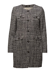 Audrey Coat - BLACK