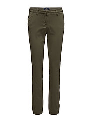 Adelie Long Chino - OLIVE
