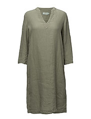 Sandrine Dress - OLIVE