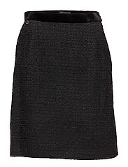 Belle Bouclé Skirt - BLACK