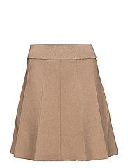 Juliette Knit Skirt - CAMEL