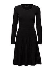 Alexandrine Knit Dress - BLACK