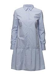 Adeline Shirt Dress - LIGHT BLUE