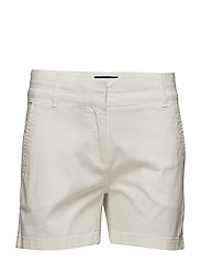 Lady Chino Shorts - OFF WHITE