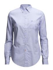 Classic Oxf. Stripe Shirt - LIGHT BLUE