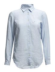 Kirsten Linen shirt - Blue