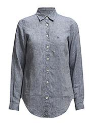 Kirsten Linen shirt - Navy