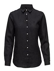 Kirsten Linen Shirt - BLACK