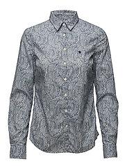 Lily Liberty Paisley Shirt - BLUE