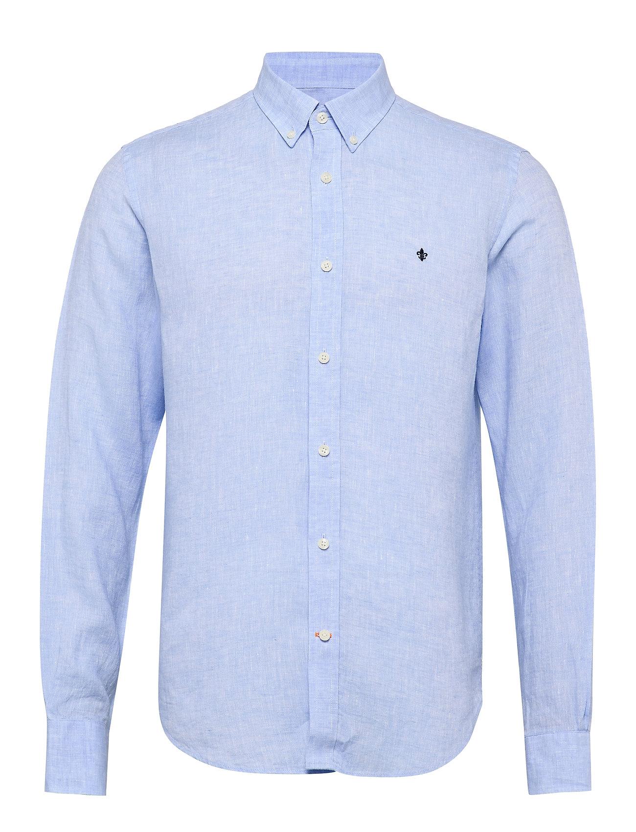 Douglas Shirt Morris Trøjer til Mænd i Lyseblå
