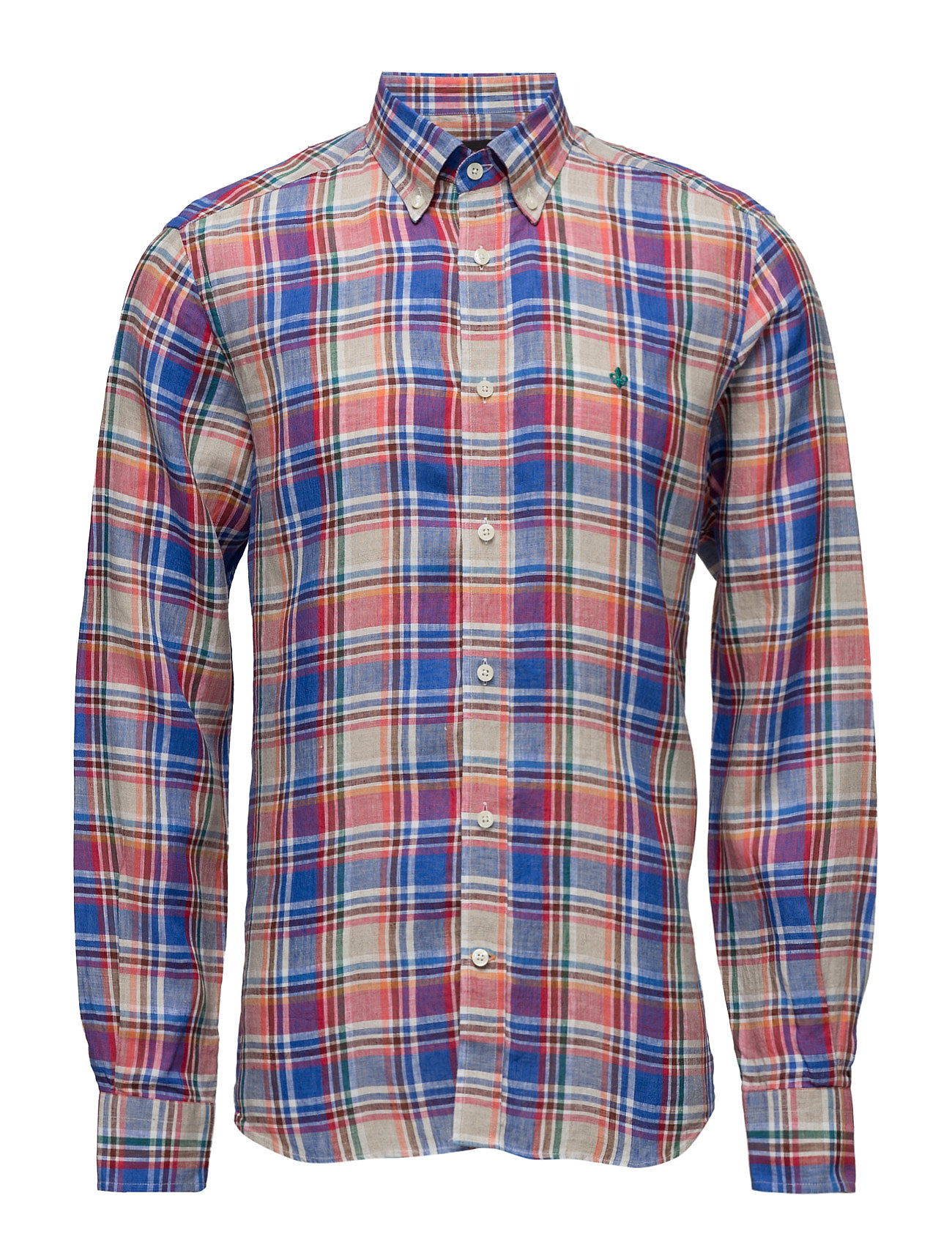 Douglas Shirt Morris Trøjer til Mænd i Blå