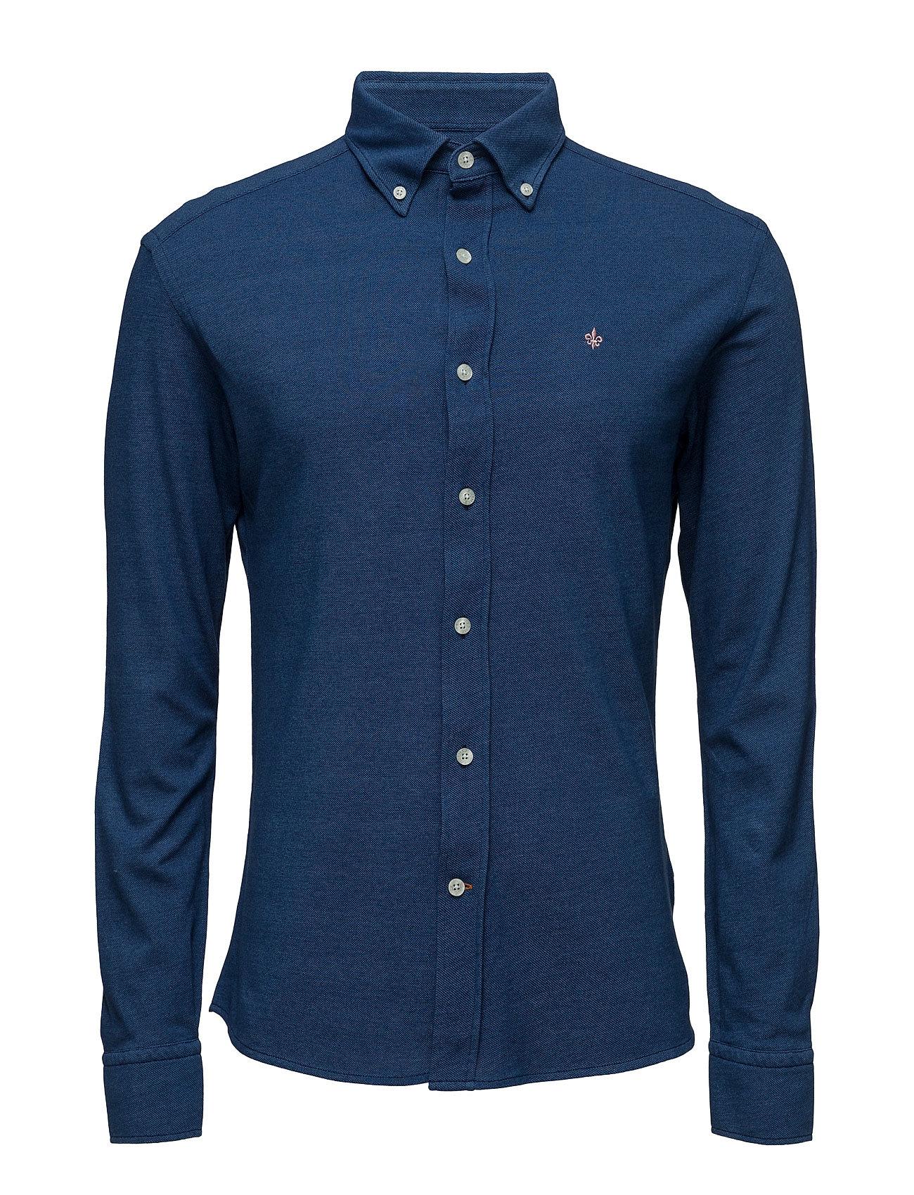 Douglas Jersey Shirt Morris Casual sko til Herrer i Blå