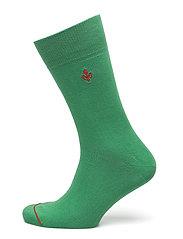 Morris Solid Socks - GREEN