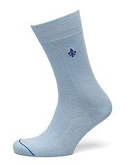 Morris Solid Socks - LIGHT BLUE