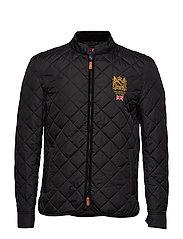 Trenton Quilted Jacket - BLACK