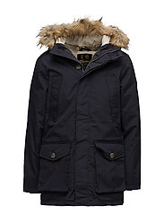 Wiltshire Parka Fake Fur - OLD BLUE