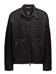 Fulham Quilted Jacket - BLACK