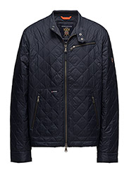 Fulham Quilted Jacket - OLD BLUE