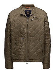 Fulham Quilted Jacket - OLIVE