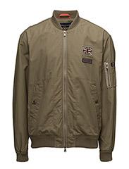 Barnes Bomber Jacket - OLIVE
