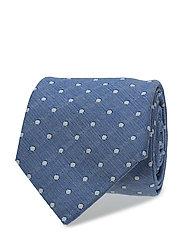 Morris Dot Tie - NAVY