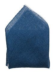 Morris Linen Pouchette - BLUE
