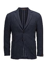 Washed Wool SB Blazer - OLD BLUE