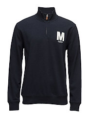 Adam Sweatshirt Zip - OLD BLUE