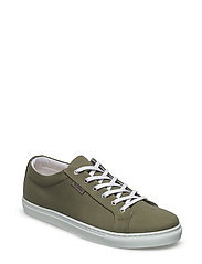 Stratford Canvas Sneakers - OLIVE
