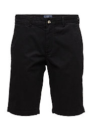 Regular Chino Shorts - BLACK