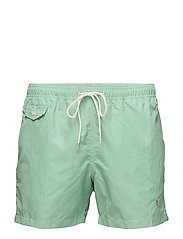 Morris check bathing trunk - GREEN