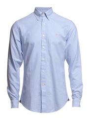 Oxford Stribe Shirt - Light Blue