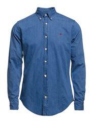 Cary Demin Shirt - Light Blue