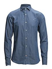 N Barrel shirt - Blue