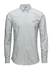 Douglas Stripe Shirt - GREEN