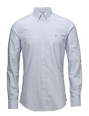 Douglas Stripe Shirt - NAVY
