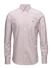 Douglas Stripe Shirt - RED