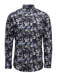 Desmond Button Down Shirt - NAVY