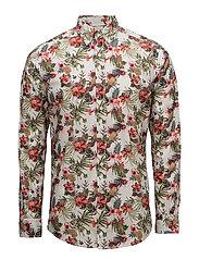 Desmond Button Down Shirt - OFF WHITE