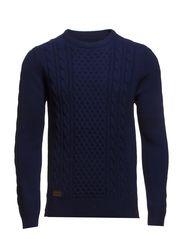 Leo Oneck Knit - Old Blue
