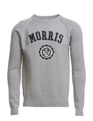 Morris Oneck Knit - Grey