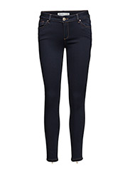 Victoria 7/8 Silk Touch Jeans - DK. BLUE DENIM