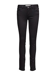 Athena Slim Jeans - JET BLACK