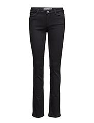 Athena Regular Jeans - JET BLACK