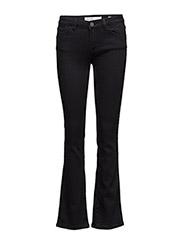 Athena Boot Cut Jeans - JET BLACK