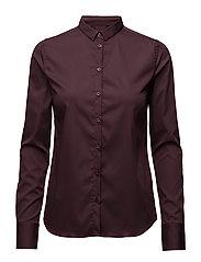 Tilda Shirt - BURGUNDY