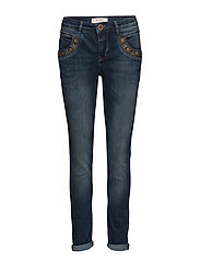 Marley Naomi Flower - BLUE DENIM